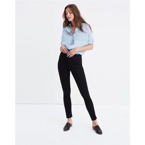 "NWT Madewell Petite 10"" High-Rise Skinny Jeans"